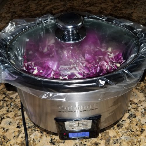 Bavarian Red Cabbage (Blaukraut) (SCD)