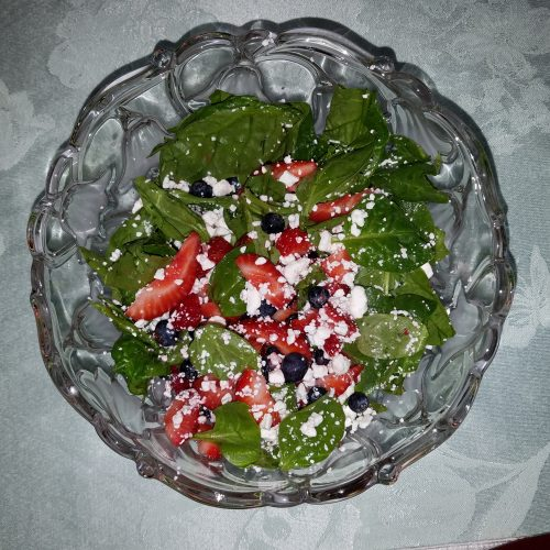 Kelley's Fresh Fruit and Spinach Salad (SCD)