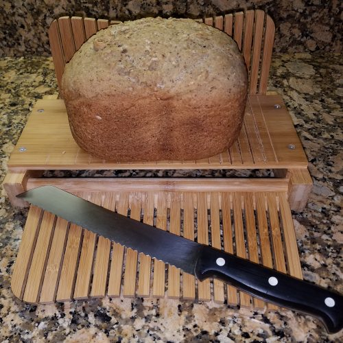 Disappearing Almond Loaf in Bread Maker