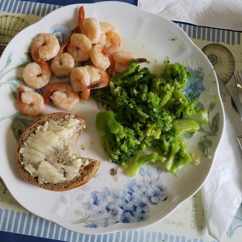 Longhorn Shrimp with Wimpy Broccoli