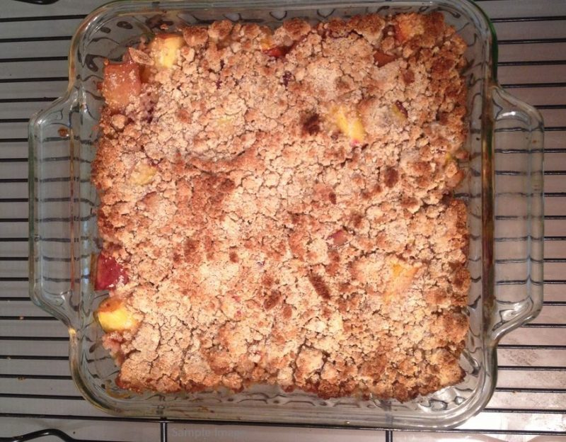 Fruit Cobbler Sample image