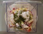 Herb potato with seasonings