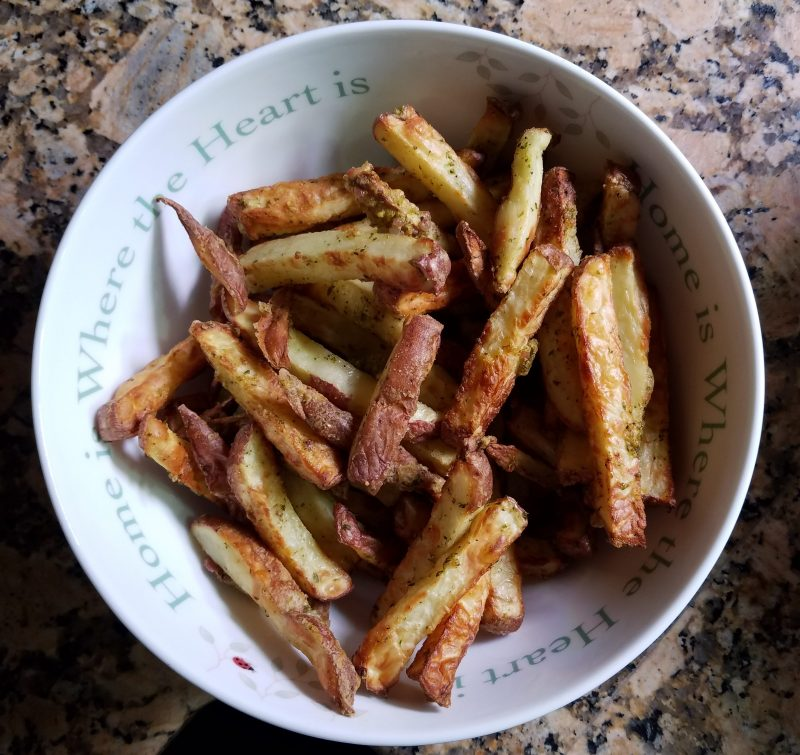 Herb Potato Fries