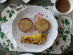 Pulled pork omelette