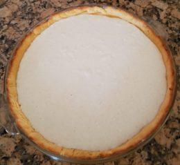 Coconut Cheesecake SCD