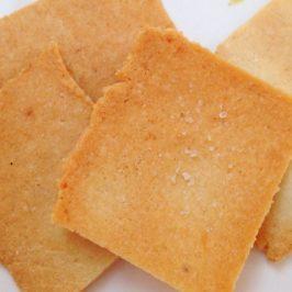 almond cracker sample