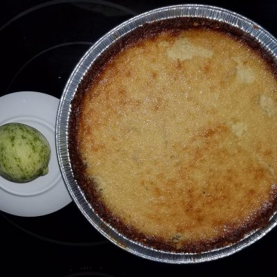 Bare Knaked Key Lime Pie